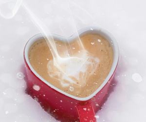 snow and coffee image