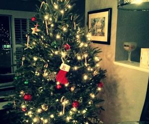 candy cane, christmas, and christmas tree image