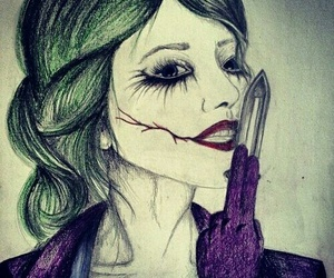 girl and joker image