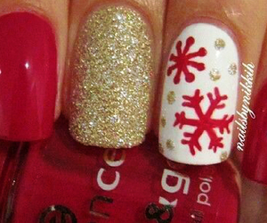 christmas, december, and nails image