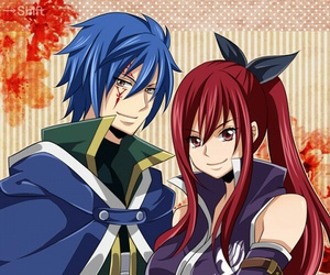 jerza, fairy tail, and erza image