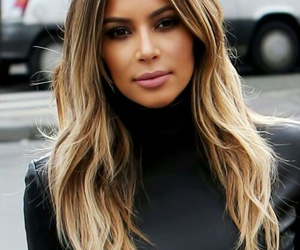 kim kardashian, hair, and kim image