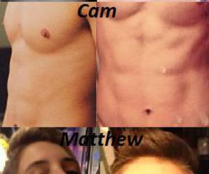 cameron dallas, shawn mendes, and matthew espinosa image