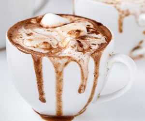 drink, food, and hot ​chocolate image