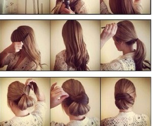 Easy, hairstyle, and elegant image