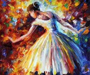 art, ballet, and ballerina image
