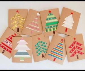 christmas, diy, and cards image