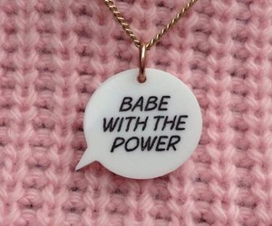 pink, babe, and power image