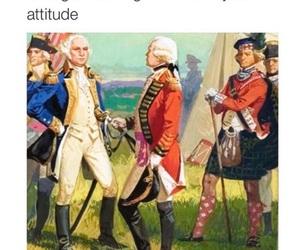 funny, George Washington, and lol image