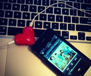 heart, music, and one direction image