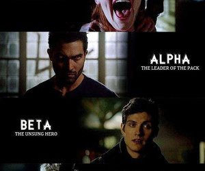 teen wolf, derek hale, and alpha image