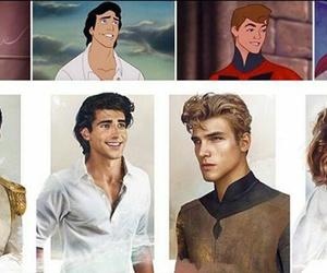 disney, eric, and prince charming image