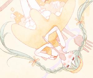 anime, girl, and sweet image