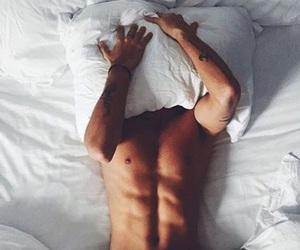 abs, bedroom, and fitness image