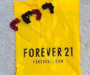 black, forever 21, and tiara image