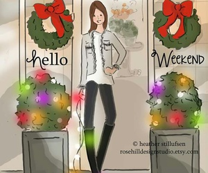 christmas, colorful, and weekend image