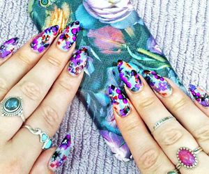colorful, nail inspiration!, and ✿⊱╮✿⊱╮nails✿⊱╮ image