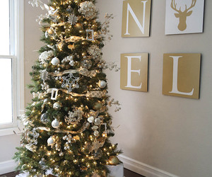 christmas, tree, and holidays image
