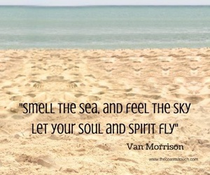quote, sea, and beach image