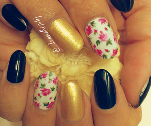 design, fall, and nails image