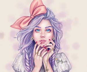 drawing, girly_m, and art image