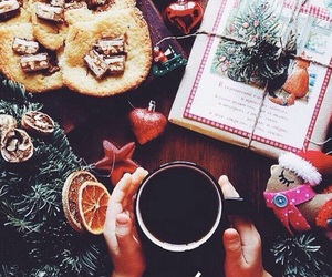 christmas, coffee, and Cookies image