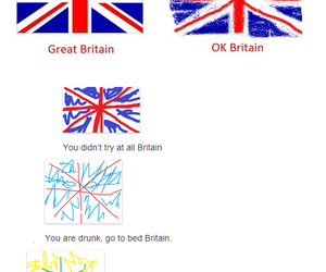 funny, britain, and drunk image