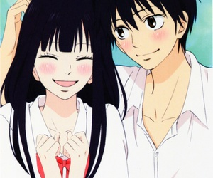 kimi ni todoke, anime, and couple image