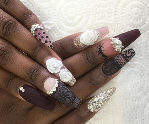 colorful, nails, and ❤ image