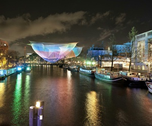amsterdam, december, and canals image