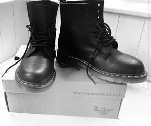 docs, dr. martens, and fashion image