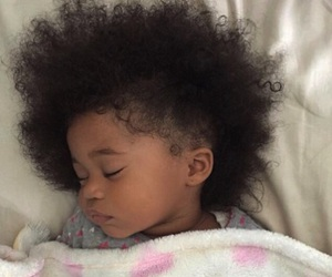 africa, baby, and afrohair image