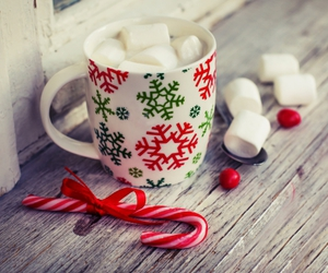 coffee, christmas, and Christmas time image