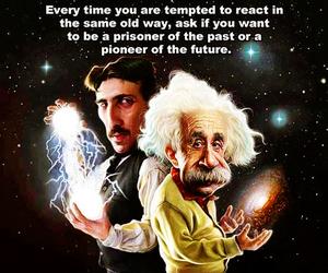 Albert Einstein, introvert, and infj image