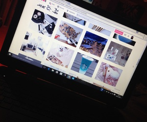 laptop, tumblr, and we heart it image