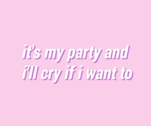 pink, cry baby, and pastel image