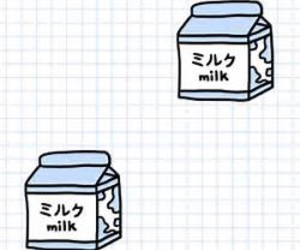 milk, blue, and aesthetic image