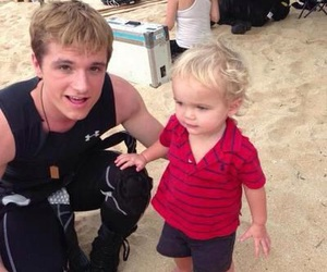 josh hutcherson, the hunger games, and catching fire image