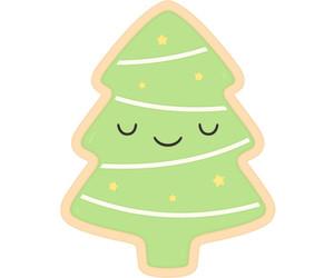 art, christmas, and christmas tree image