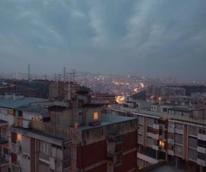 city, sky, and grunge image