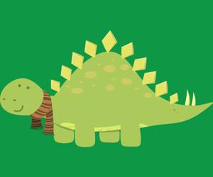 art, dinosaur, and scarf image