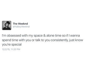 alone, tweet, and the weeknd image