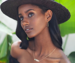 beautiful, flawless, and african american woman image