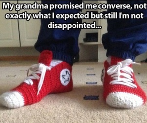 converse, funny, and lol image