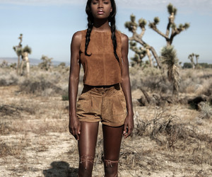 black woman, brown, and fashion image