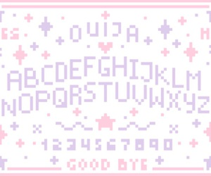 ouija, pastel, and kawaii image