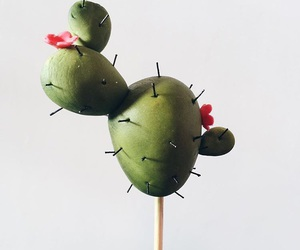 cactus, cake pops, and cake art image