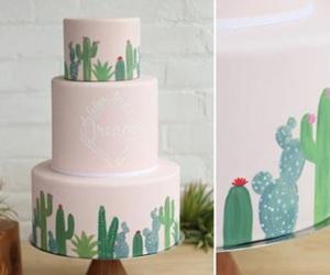 cactus, cake art, and cakes image