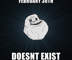 haha, single, and forever alone image