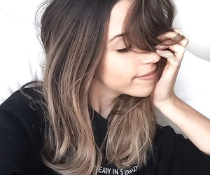hair, hair color, and balayage image